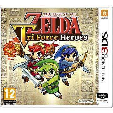 The Legend of Zelda: Tri Force Heroes pro Nintendo 3DS