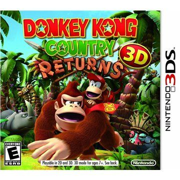 Donkey Kong Country Returns 3D pro Nintendo 3DS