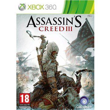 Assassins Creed III CZ pro Xbox 360