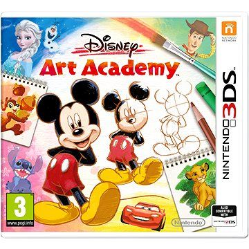 Disney Art Academy pro Nintendo 3DS