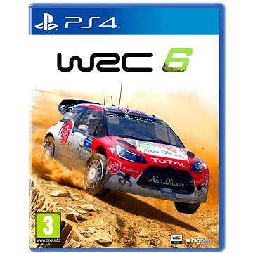 WRC: FIA World Rally Championship 6 pro PS4