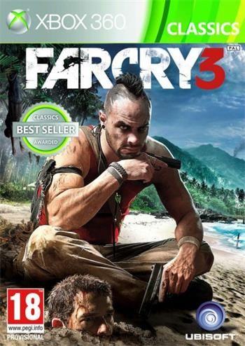 Far Cry 3 Classic pro Xbox 360 cena od 390 Kč