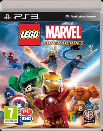 LEGO Marvel Super Heroes Essential pro PS3