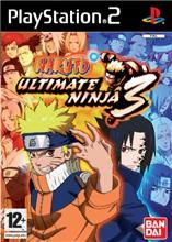 Naruto Ultimate Ninja 3 pro PS2
