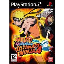 Ultimate Ninja 4: Naruto Shippuden pro PS2