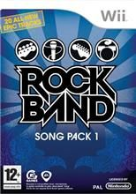 Rock Band Song Pack 1 pro Nintendo Wii
