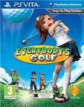 Everybodys Golf pro PS Vita