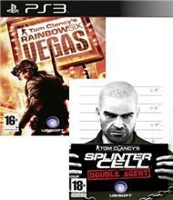 Splinter Cell Double Agent & Rainbow 6 Vegas pro PS3
