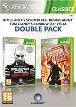 Tom Clancys Splinter Cell Double Agent + Tom Clancys Ghost Recon Rainbow Six Vegas pro Xbox 360 cena od 349 Kč