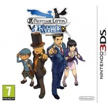 Professor Layton vs Phoenix Wright: Ace Attorney pro Nintendo 3DS