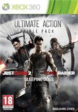Just Cause 2 + Sleeping Dogs + Tomb Raider pro Xbox 360 cena od 419 Kč