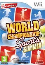 World Championship Sport Summer pro Nintendo Wii