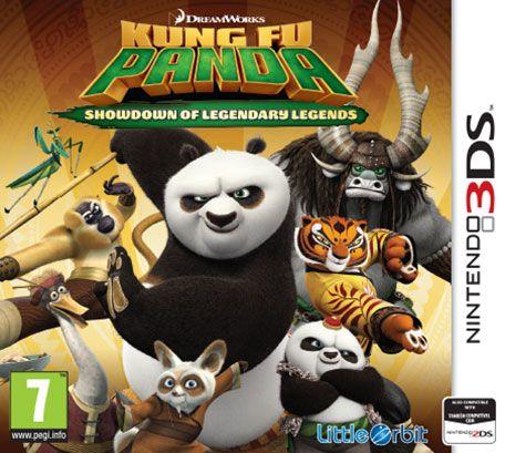 Kung Fu Panda: Showdown of Legendary Legends pro Nintendo 3DS