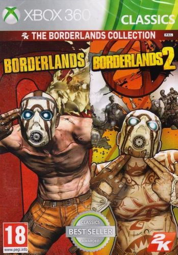 Borderlands 1 + 2 Collection pro Xbox 360