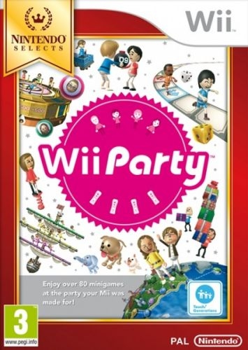 Party Nintendo Select pro Nintendo Wii