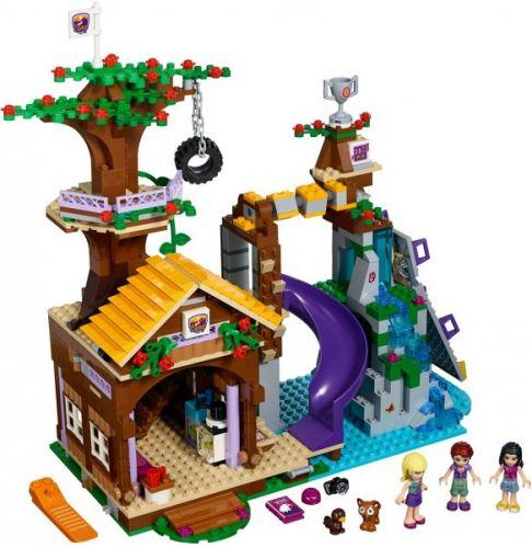 LEGO Friends Dobrodružný tábor - dům na stromě 41122 cena od 1799 Kč
