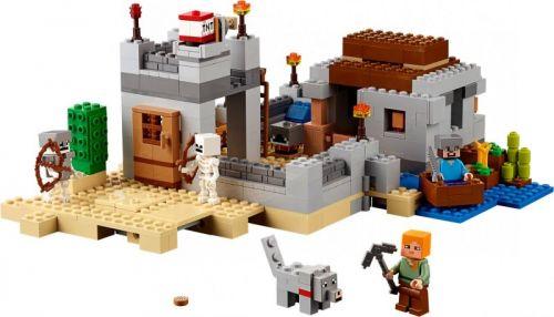 LEGO Minecraft Pouštní hlídková stanice 21121