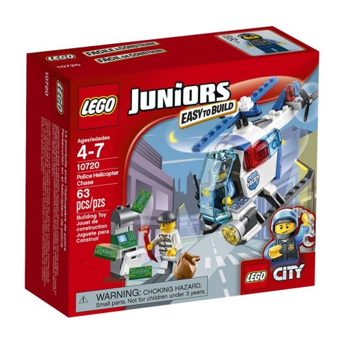 LEGO Juniors Pronásledování s policejní helikoptérou 10720