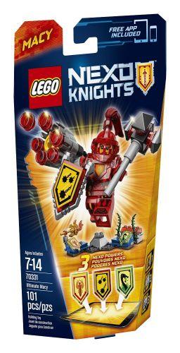 LEGO Nexo Knights Úžasná Macy 70331 cena od 196 Kč