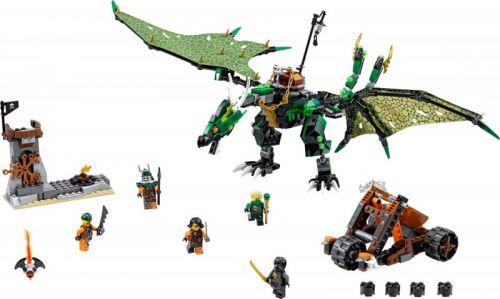 LEGO Ninjago Zelený drak NRG 70593 cena od 0 Kč