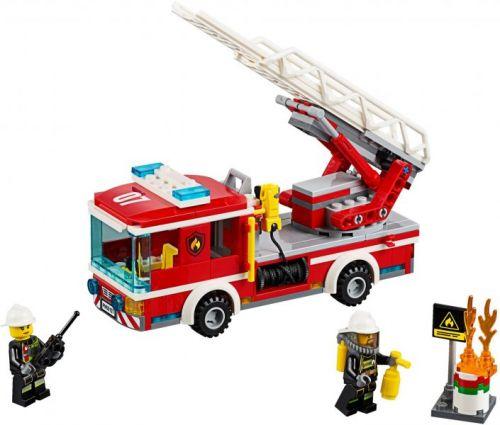 LEGO City Hasičské auto s žebříkem 60107