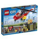 LEGO City Hasičská zásahová jednotka 60108 cena od 558 Kč