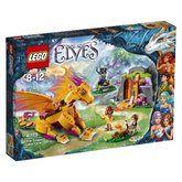 LEGO Elves Lávová jeskyně ohnivého draka 41175