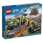 LEGO City Volcano Explorers Sopečná základna průzkumníků 60124