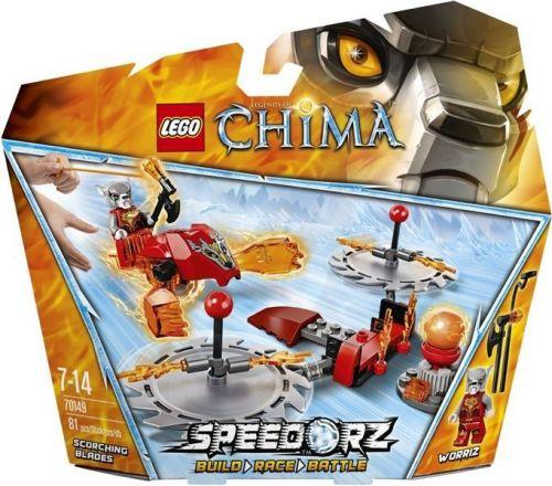 LEGO CHIMA Žhnoucí čepele 70149