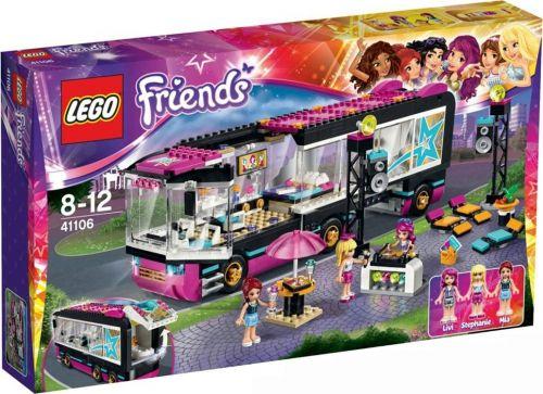 LEGO Friends Autobus pro turné popových hvězd 41106 cena od 1449 Kč
