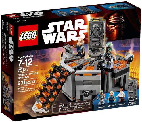 LEGO Star Wars Karbonová mrazící komora 75137 cena od 777 Kč