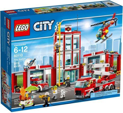 LEGO City Hasičská stanice 60110 cena od 1998 Kč