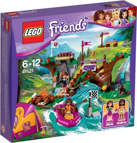LEGO Friends Dobrodružný tábor Jízda na divoké vodě 41121 cena od 1199 Kč