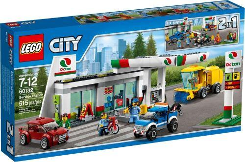 LEGO City Benzínová stanice 60132 cena od 0 Kč