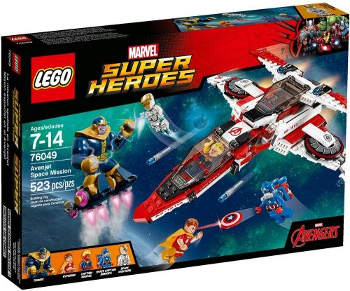 LEGO Super Heroes Vesmírná mise Avenjet 76049 cena od 1685 Kč
