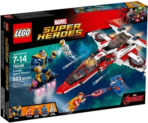 LEGO Super Heroes Vesmírná mise Avenjet 76049