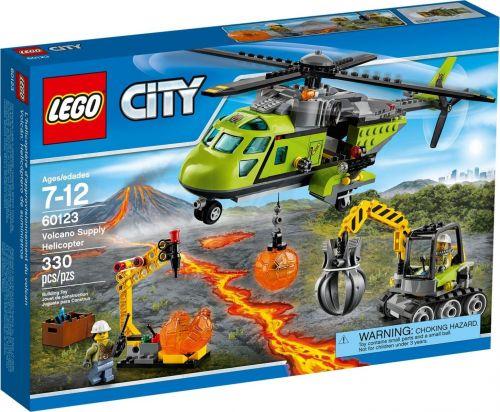 LEGO City Sopečná zásobovací helikoptéra 60123 cena od 1234 Kč