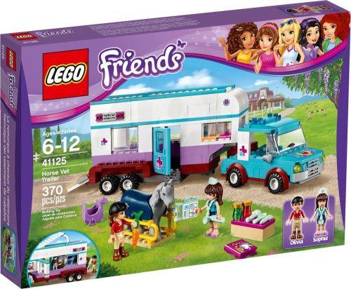 LEGO Friends Veterinářský přívěs s koněm 41125