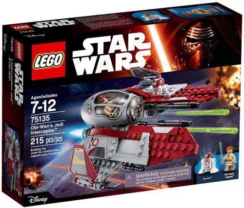 LEGO Star Wars Obi-Wan's Jedi Interceptor 75135 cena od 1111 Kč
