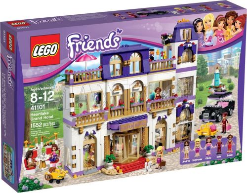 LEGO Friends Hotel Grand v městečku Heartlake 41101