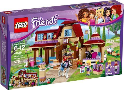 LEGO Friends Jezdecký klub v Heartlake 41126 cena od 1495 Kč