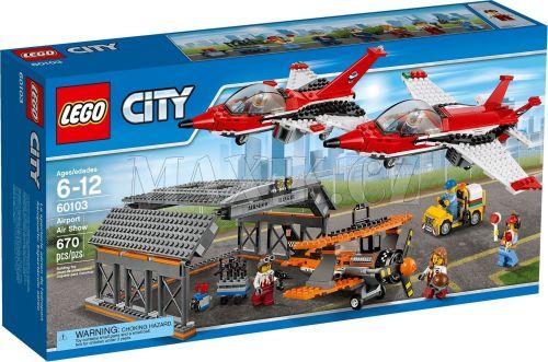 LEGO City Letiště Letecká show 60103
