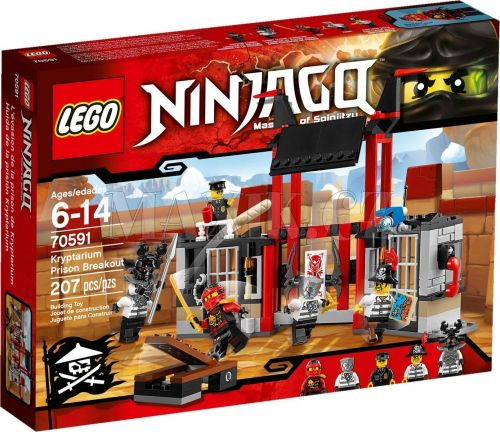 LEGO Ninjago Útěk z vězení Kryptarium 70591 cena od 0 Kč
