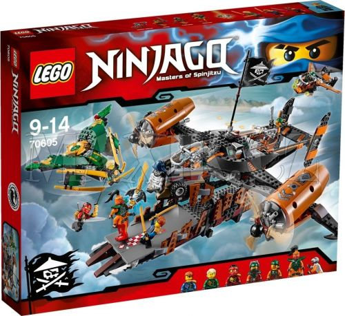 LEGO Ninjago Smolná tvrz 70605