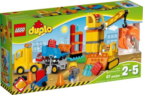 LEGO Duplo Velké staveniště 10813