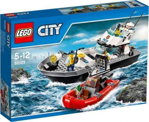 LEGO City Policejní hlídková loď 60129