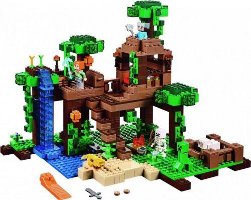 LEGO Minecraft Dům na stromě v džungli 21125