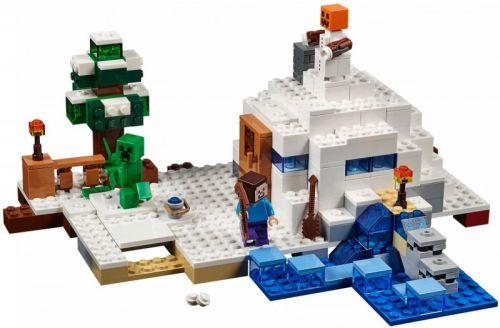 LEGO Minecraft Sněžná skrýš 21120