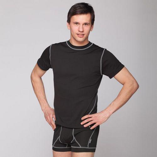 Silver+ Pánské sportovní triko s krátkým rukávem