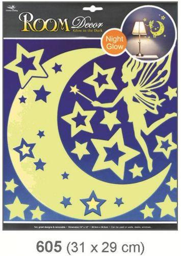 Anděl Přerov Svítící samolepka Víla s hvězdičkami